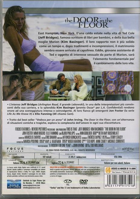 The Door in the Floor di Tod Williams - DVD - 2