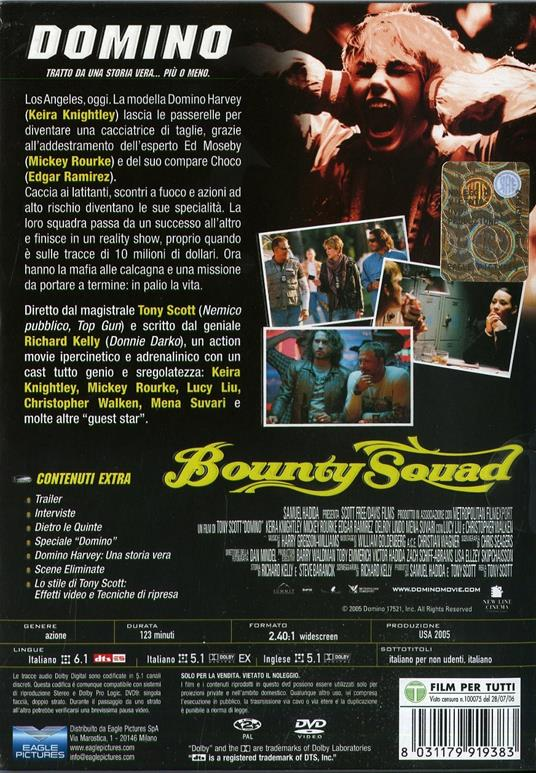 Domino (2 DVD)<span>.</span> Special Edition di Tony Scott - DVD - 2