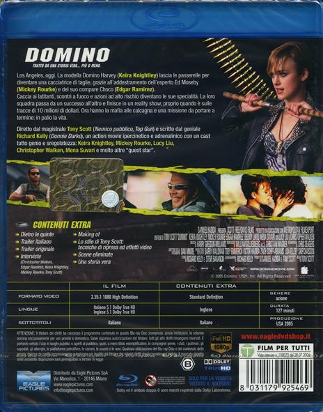 Domino di Tony Scott - Blu-ray - 2