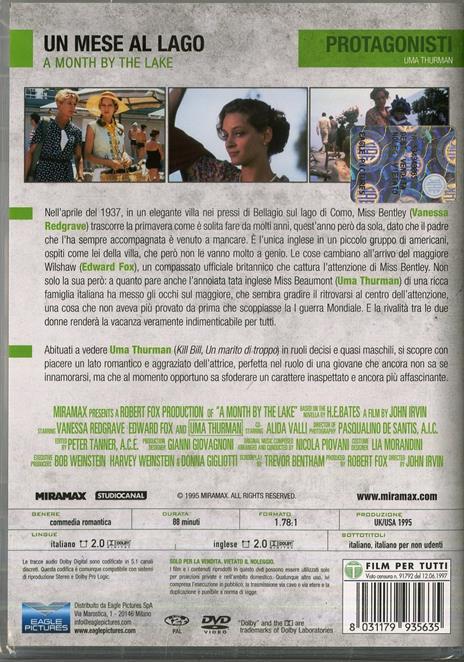 Un mese al lago di John Irvin - DVD - 2