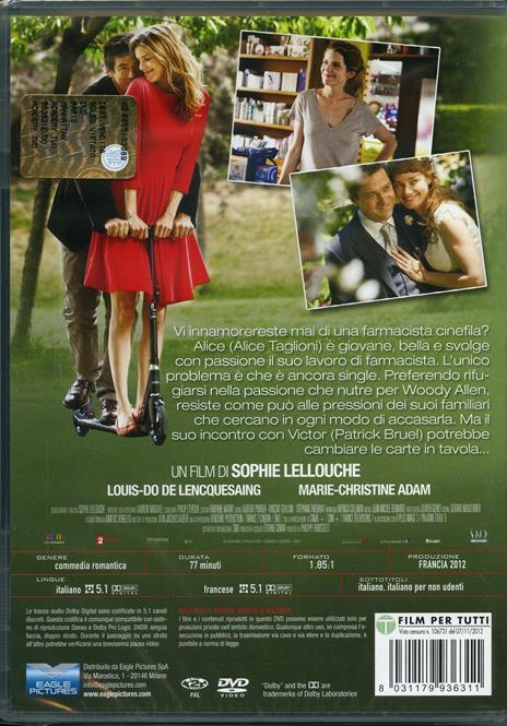 Paris-Manhattan di Sophie Lellouche - DVD - 2