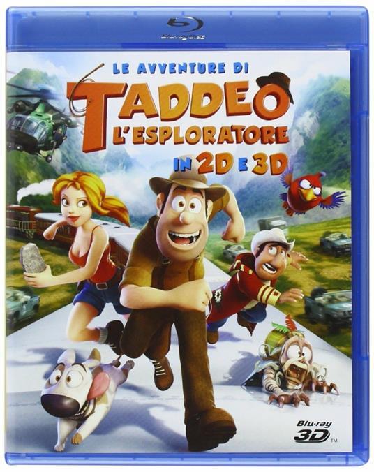 Le avventure di Taddeo l'esploratore (Blu-ray + Blu-ray 3D) di Enrique Gato