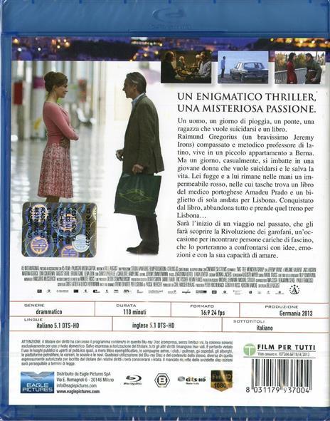 Treno di notte per Lisbona di Bille August - Blu-ray - 2