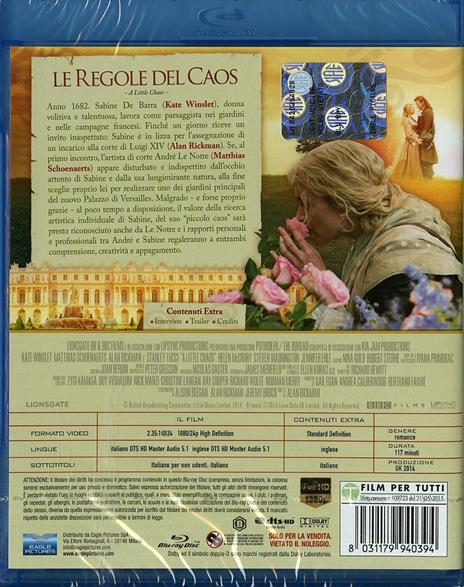 Le regole del caos di Alan Rickman - Blu-ray - 2