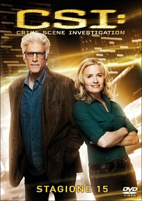 CSI. Crime Scene Investigation. Stagione 15 (3 DVD) di Alec Smight,Brad Tanenbaum,Jeffrey G. Hunt - DVD