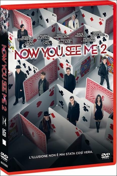Now You See Me 2 di Jon M. Chu - DVD