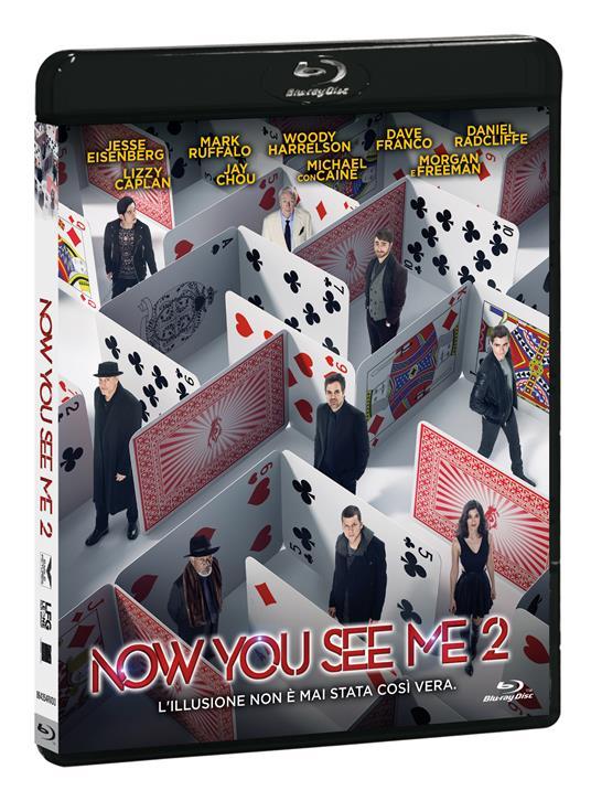 Now You See Me 2 di Jon M. Chu - Blu-ray