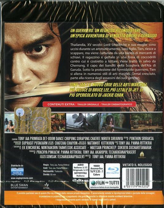 Ong-Bak 2. La nascita del dragone di Tony Jaa,Panna Rittikrai - Blu-ray - 2