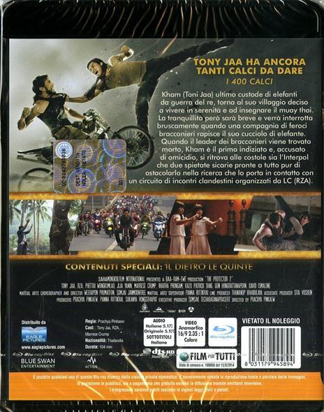 The Protector 2 di Prachya Pinkaew - Blu-ray - 2