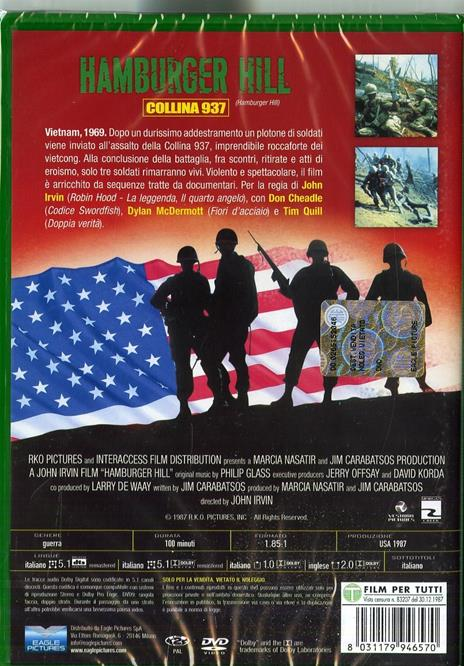 Hamburger Hill (DVD) di John Irvin - DVD - 2