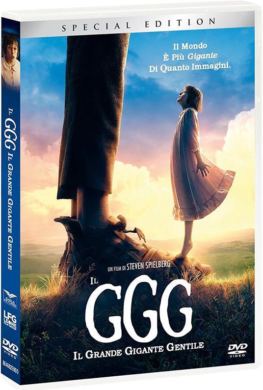 Il GGG. Il Grande Gigante Gentile (DVD) di Steven Spielberg - DVD
