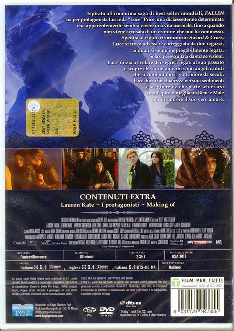 Fallen (DVD) di Scott Hicks - DVD - 2