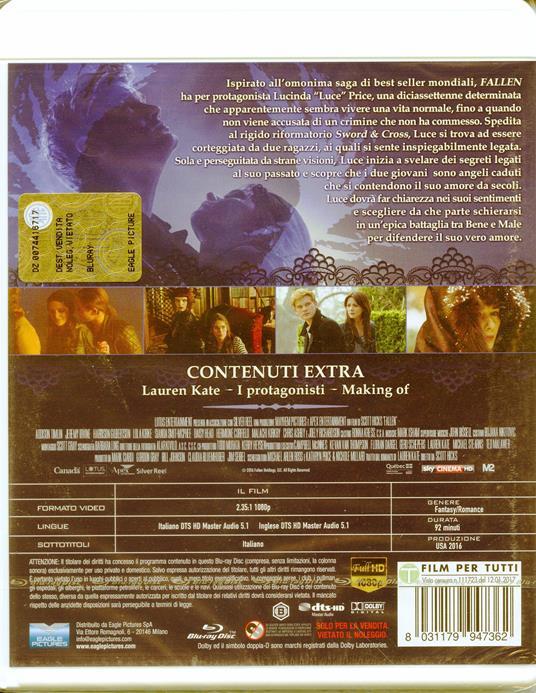Fallen (Blu-ray) di Scott Hicks - Blu-ray - 2