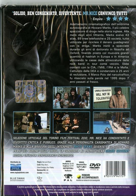 Mr. Nice (DVD) di Bernard Rose - DVD - 2