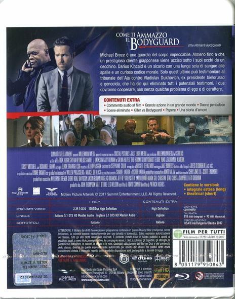 Come ti ammazzo il bodyguard (Blu-ray) di Patrick Hughes - Blu-ray - 2