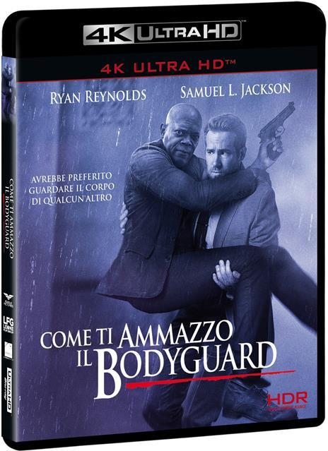 Come ti ammazzo il bodyguard (Blu-ray + Blu-ray 4K Ultra HD) di Patrick Hughes