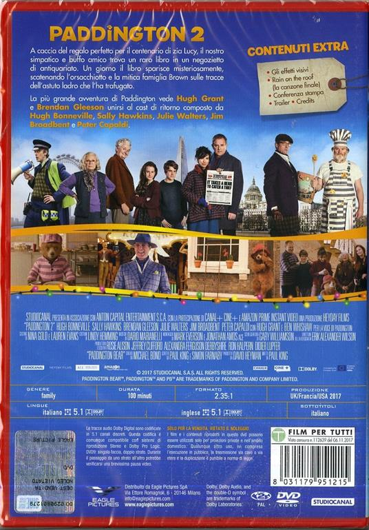 Paddington 2 (DVD) di Paul King - DVD - 2