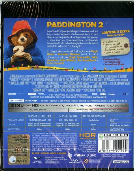 Paddington 2 (Blu-ray + Blu-ray 4K Ultra HD) di Paul King - 2