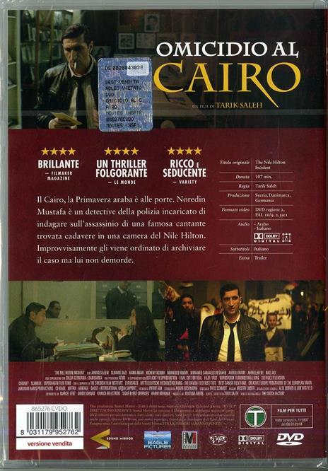 Omicidio al Cairo (DVD) di Tarik Saleh - DVD - 2