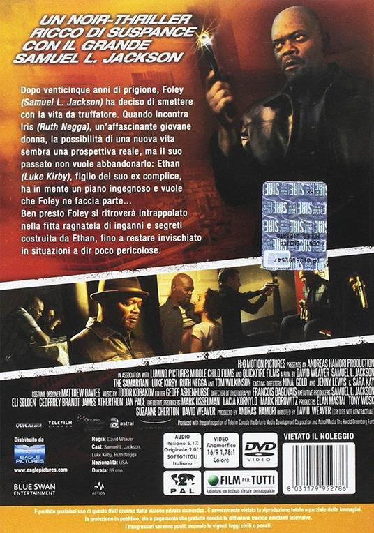 The Samaritan (DVD) di David Weaver - DVD - 2