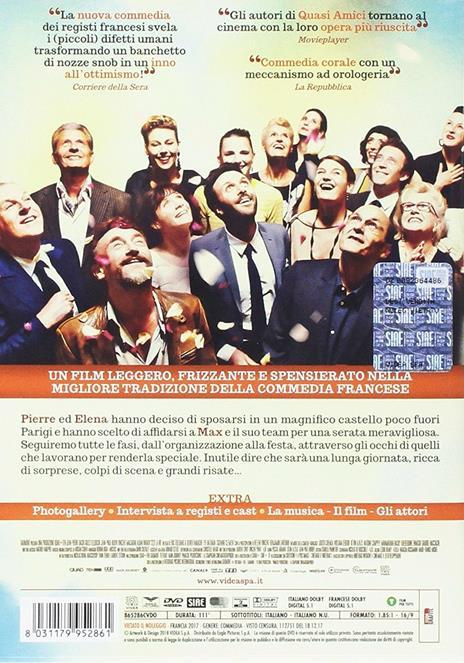 C'est la vie. Prendila come viene (DVD) di Olivier Nakache,Eric Toledano - DVD - 2