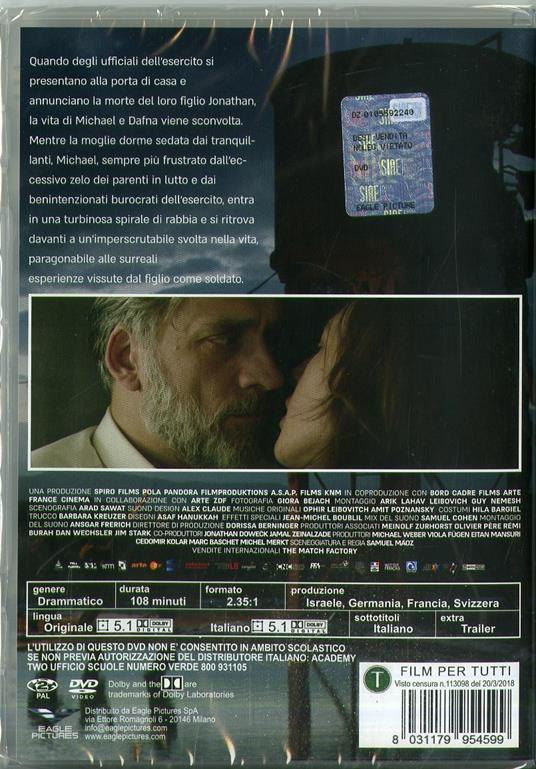 Foxtrot. La danza del destino (DVD) di Samuel Maoz - DVD - 2