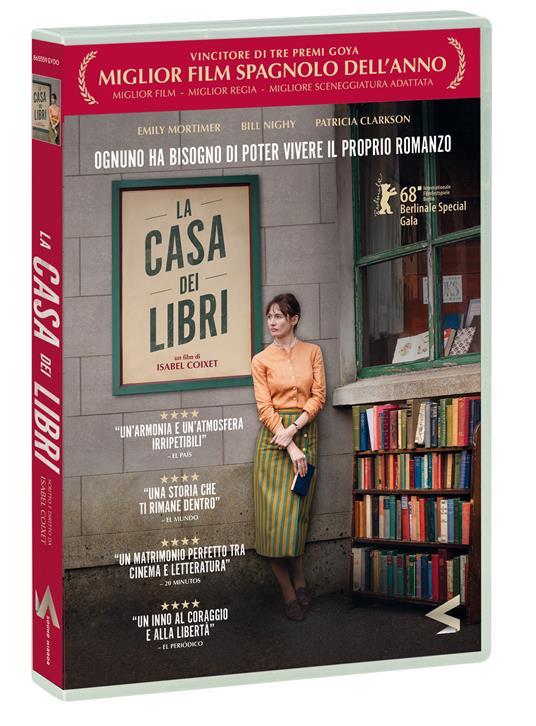 La casa dei libri (DVD) di Isabel Coixet - DVD
