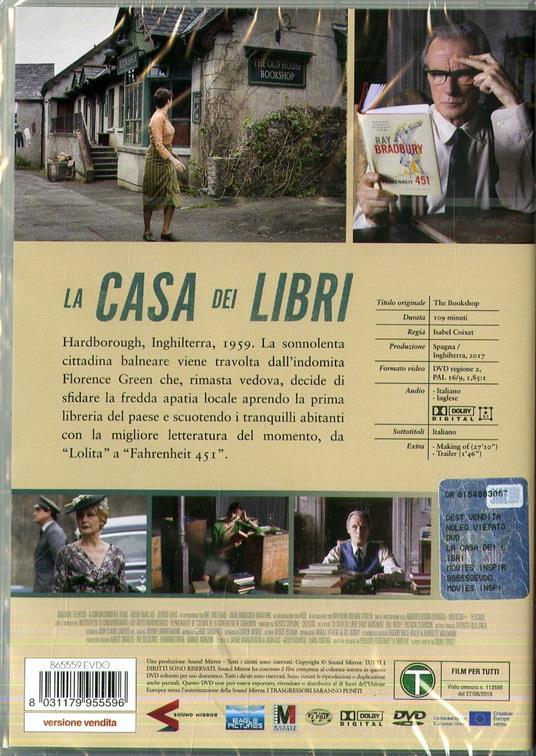 La casa dei libri (DVD) di Isabel Coixet - DVD - 2