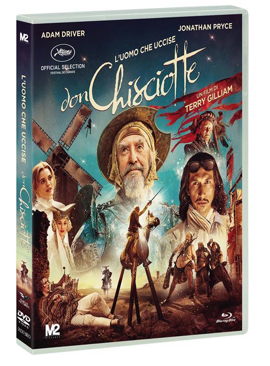 L' uomo che uccise Don Chisciotte (DVD) di Terry Gilliam - DVD