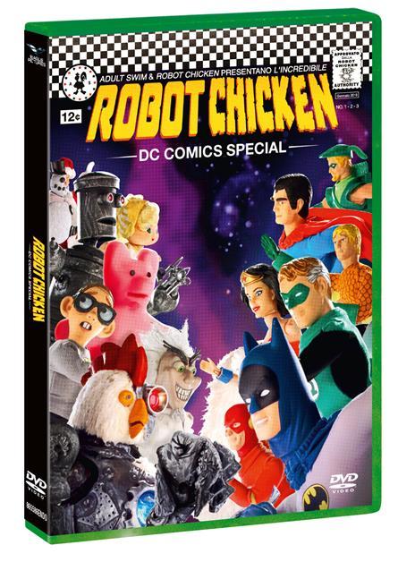 Robot Chicken. DC Comics Special Edition (DVD) di Tom Sheppard,Zeb Wells - DVD