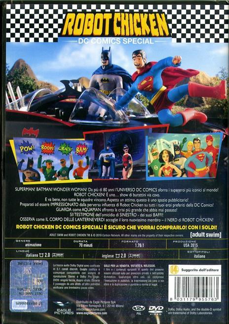 Robot Chicken. DC Comics Special Edition (DVD) di Tom Sheppard,Zeb Wells - DVD - 2