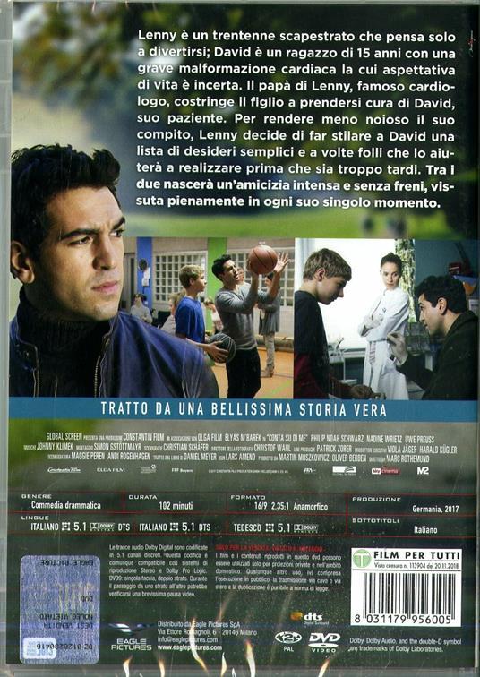 Conta su di me (DVD) di Marc Rothemund - DVD - 2