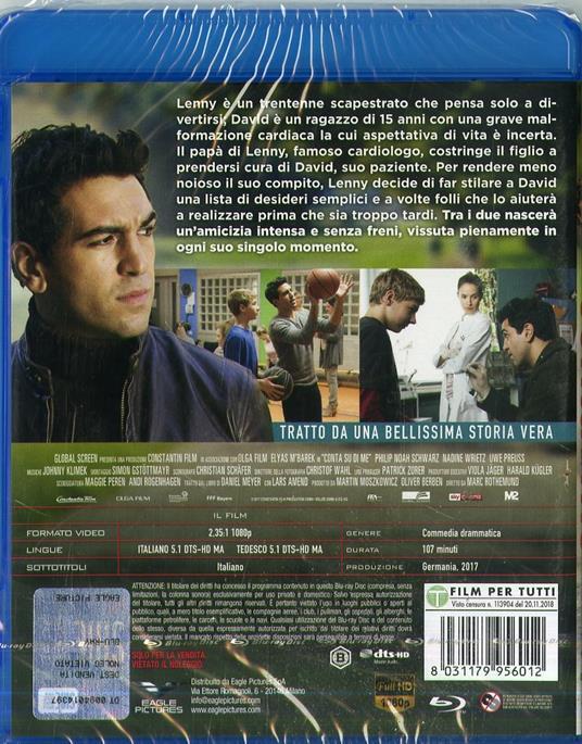 Conta su di me (Blu-ray) di Marc Rothemund - Blu-ray - 2