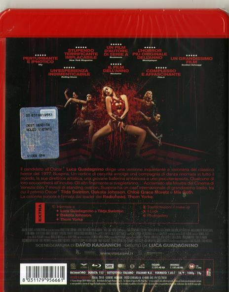 Suspiria (2019). Con 4 card da collezione (Blu-ray) di Luca Guadagnino - Blu-ray - 2