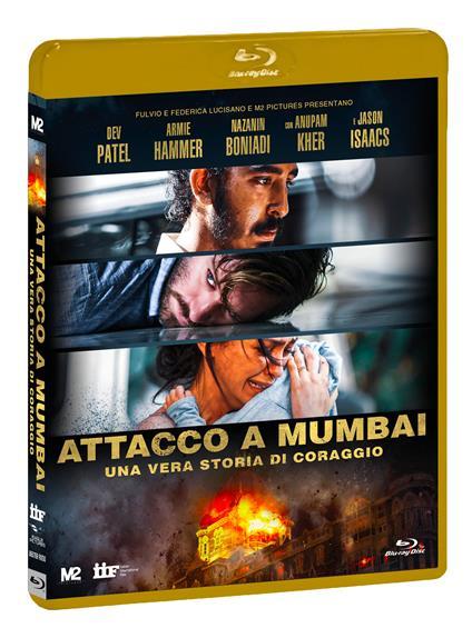 Attacco a Mumbai. Una vera storia di coraggio (DVD + Blu-ray) di Anthony Maras - DVD + Blu-ray