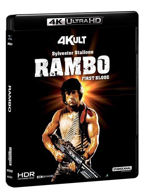 Rambo. Con Card (Blu-ray + Blu-ray 4K Ultra HD) di Ted Kotcheff - Blu-ray + Blu-ray Ultra HD 4K