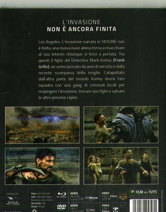 Beyond Skyline (DVD + Blu-ray) di Liam O'Donnell - DVD + Blu-ray - 2