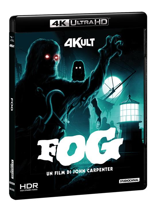 The Fog. Con card numerata (Blu-ray + Blu-ray 4K Ultra HD) di John Carpenter - Blu-ray + Blu-ray Ultra HD 4K