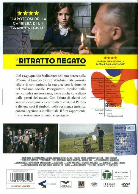 Il ritratto negato (DVD) di Andrzej Wajda - DVD - 2