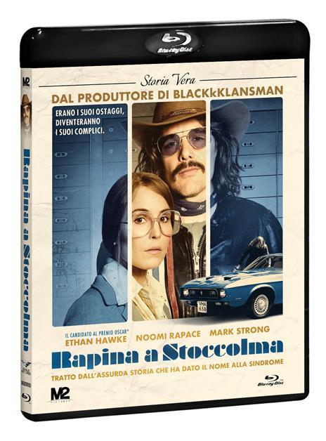 Rapina a Stoccolma (DVD + Blu-ray) di Robert Budreau - DVD + Blu-ray