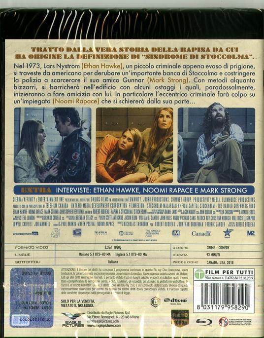 Rapina a Stoccolma (DVD + Blu-ray) di Robert Budreau - DVD + Blu-ray - 2
