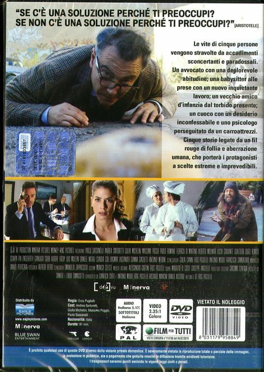 Nevermind (DVD) di Eros Puglielli - DVD - 2