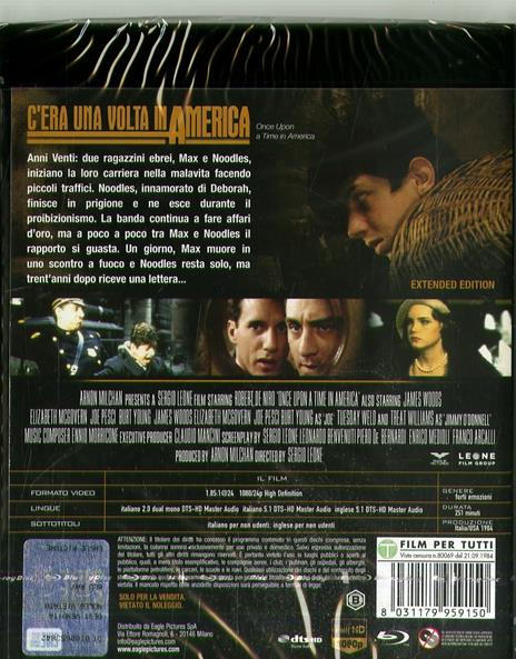 C'era una volta in America (DVD + Blu-ray) di Sergio Leone - DVD + Blu-ray - 2
