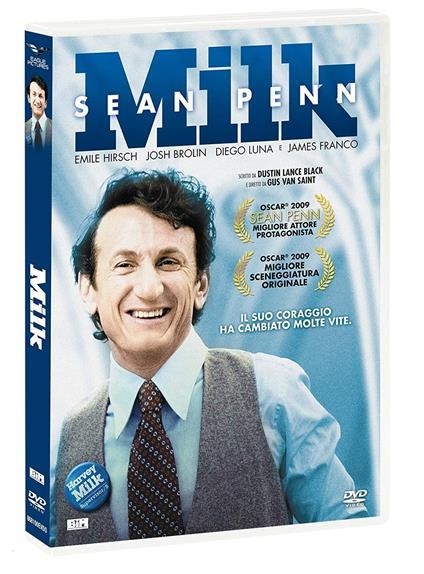 Milk (DVD) di Gus Van Sant - DVD
