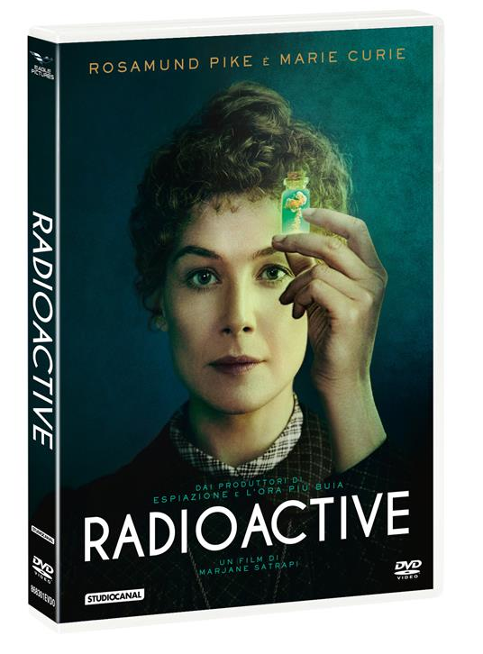 Radioactive (DVD) di Marjane Satrapi - DVD