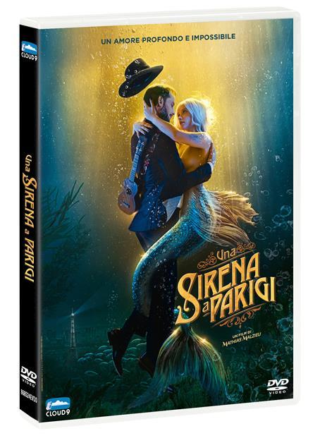 Una sirena a Parigi (DVD) di Mathias Malzieu - DVD