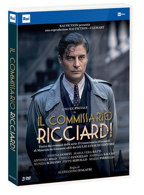 commissario Ricciardi. Serie TV ita (3 DVD) di Alessandro D'Alatri - DVD