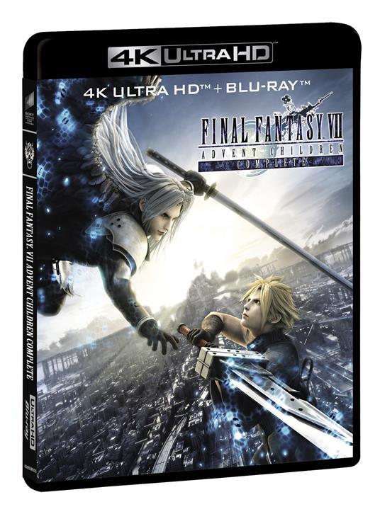 Final Fantasy VII. Advent Children (  (Blu-ray + Blu-ray Ultra HD 4K) di Tetsuya Nomura,Takeshi Nozue - Blu-ray + Blu-ray Ultra HD 4K