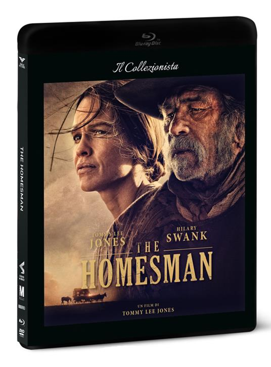The Homesman (DVD + Blu-ray) di Tommy Lee Jones - DVD + Blu-ray