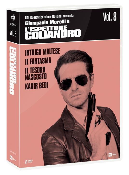 L' ispettore Coliandro vol.8 (2 DVD) (DVD) di Manetti Bros. - DVD